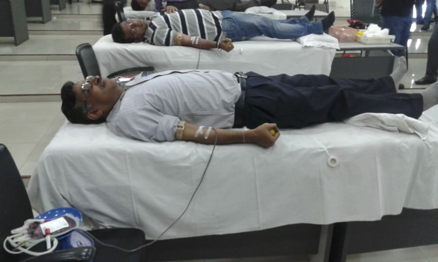 Blood Donation Camp at GPIL-1